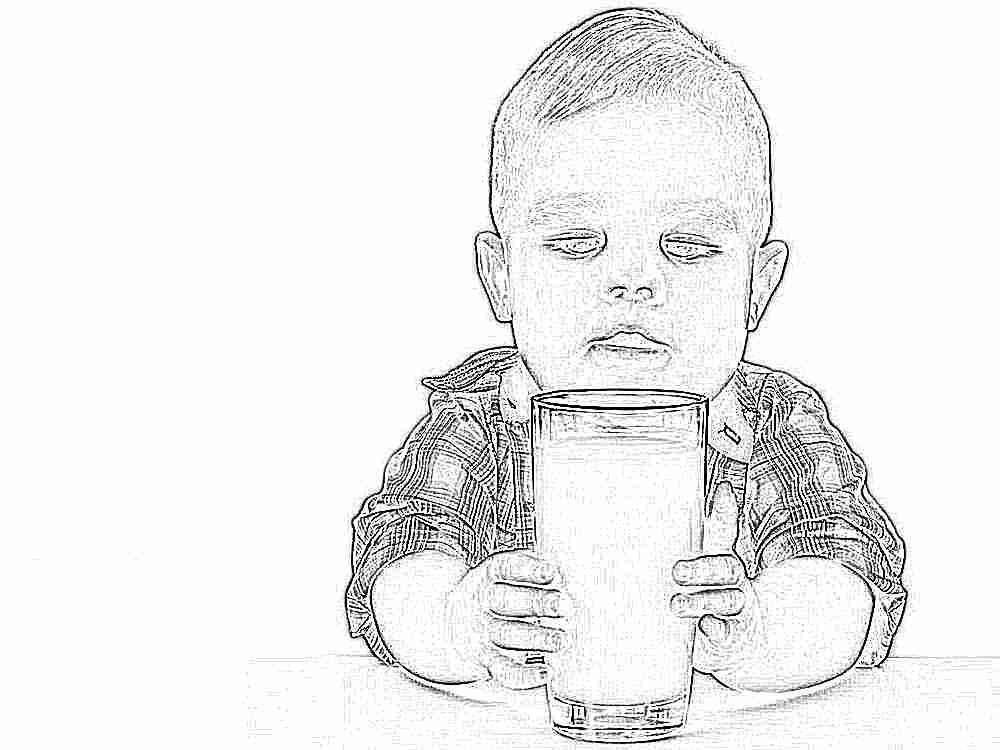 Когда детям можно давать коровье молоко комаровский — Детское здоровье