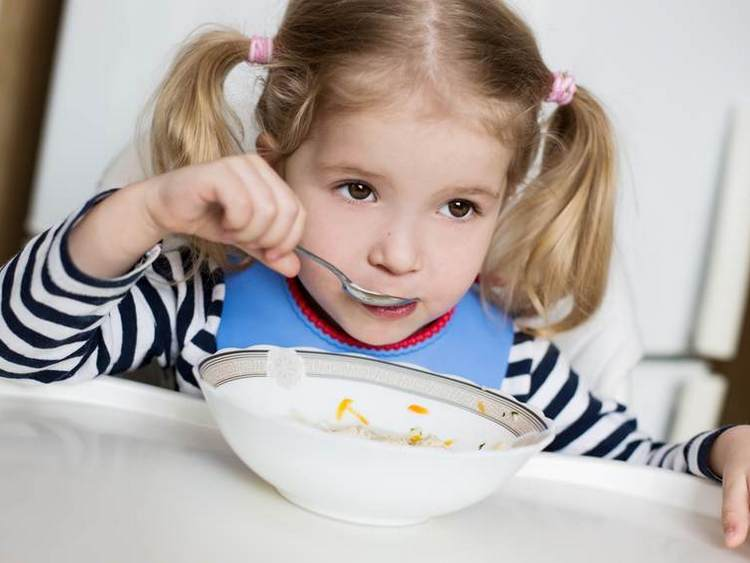 Ребенок год и семь месяцев не ест еду с общего стола овощи исупы