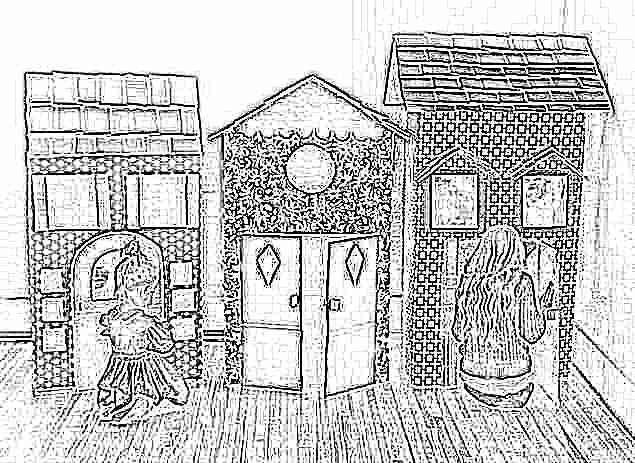 Игровой домик для детей своими руками для квартиры