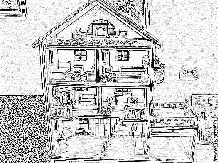 Кукольный домики фото своими руками