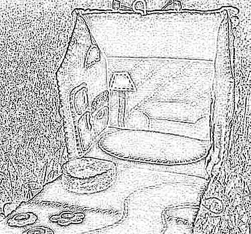 Картонные домики для ребенка своими руками фото