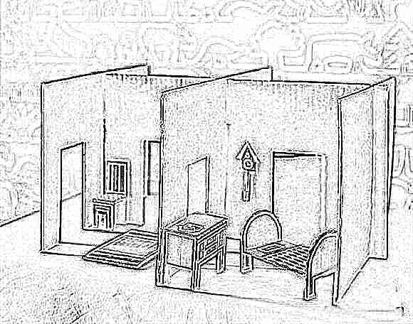 Мебель для игрушек из картона своими руками