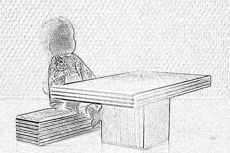 Домик для ребенка из картона своими руками схемы шаблоны
