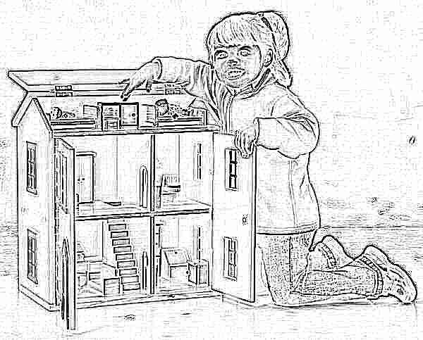 Детская кукольного домика своими руками 815
