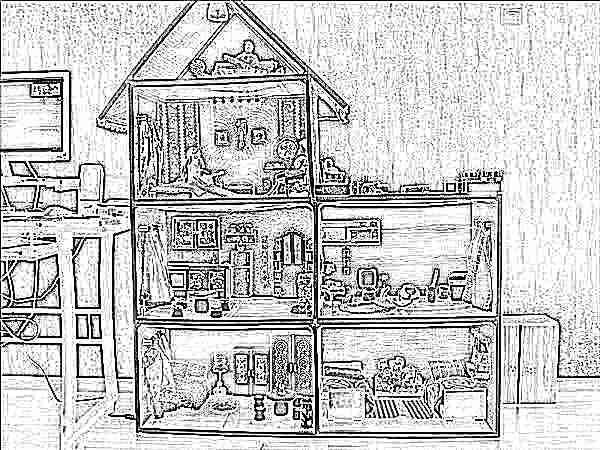 Детская кукольного домика своими руками 446