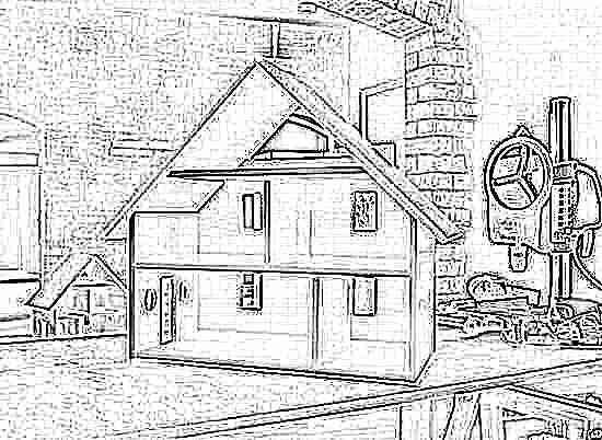 Кукольные домики своими руками из фанеры, коробки (41 фото): как сделать, деревянный из фанеры, схемы