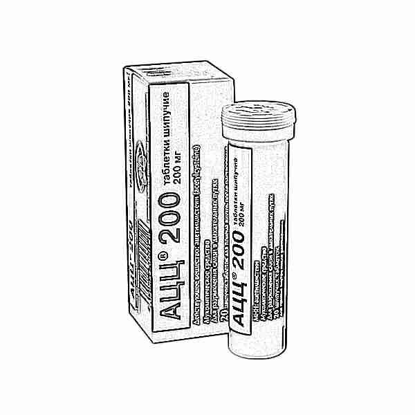 Муколитические средства sandoz ацц 200 (шипучие таблетки) | отзывы.