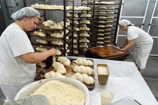 как делают хлеб для детей в картинках