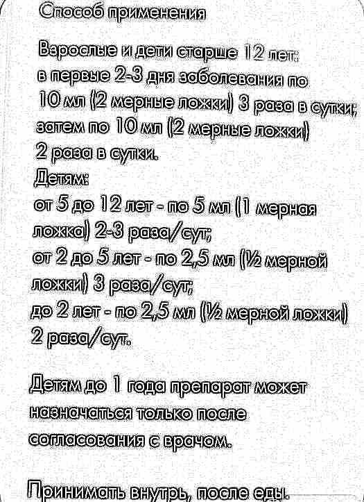 Амброксол ведмедика бо инструкция