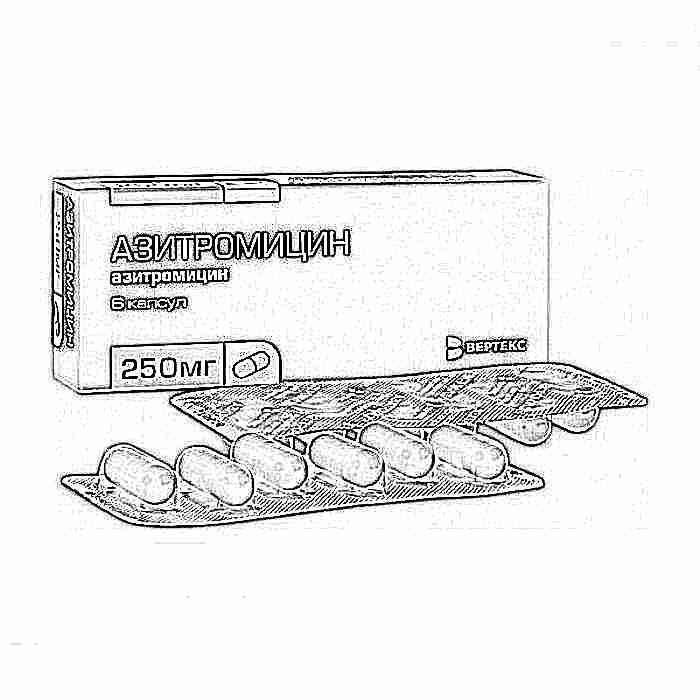 Суспензия азитромицин для детей: инструкция по применению