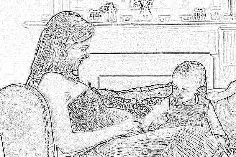 Беременна 2 ребенком безработная 84