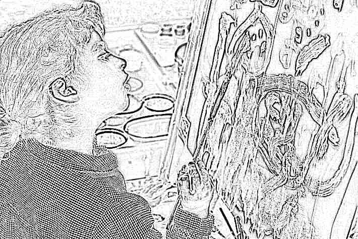 Ребенок рисует черной краской что это может значить