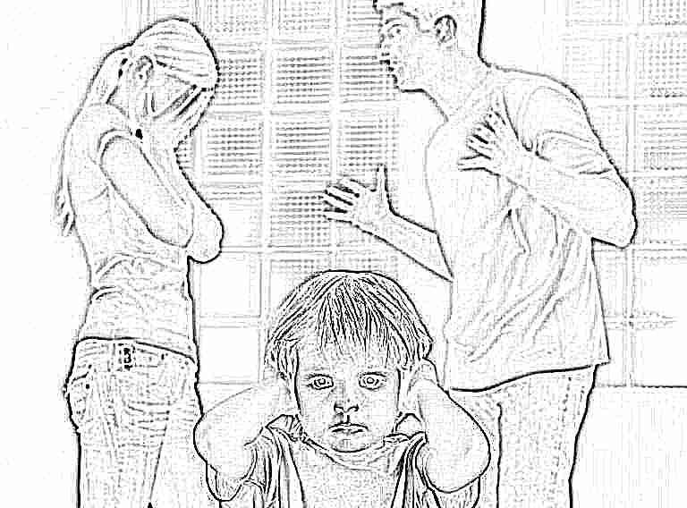 как дети переносят развод родителей попалась