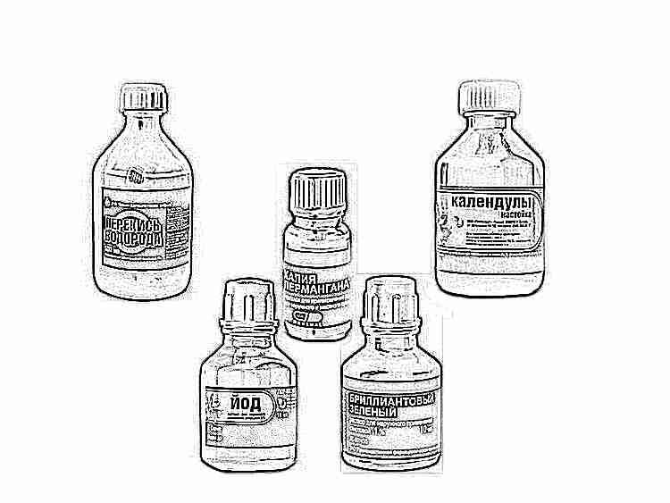 Антисептики для детей: кишечные препараты, антисептические капли в нос, глазные, антисептик для рук