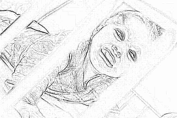 Беспокойно спит новорожденный ребенок