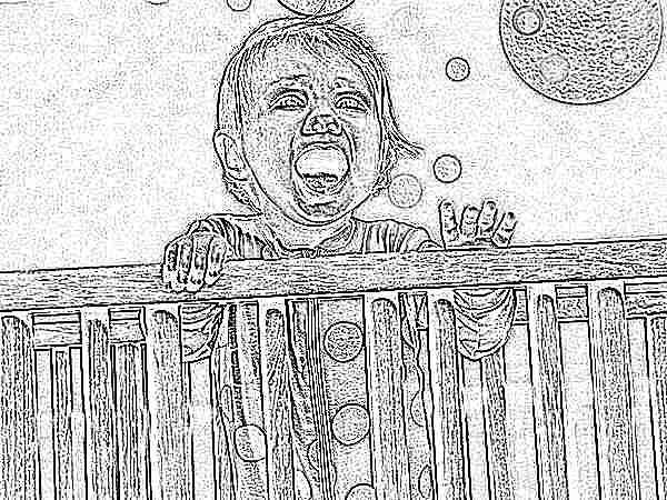 Почему груднички плохо спят ночью
