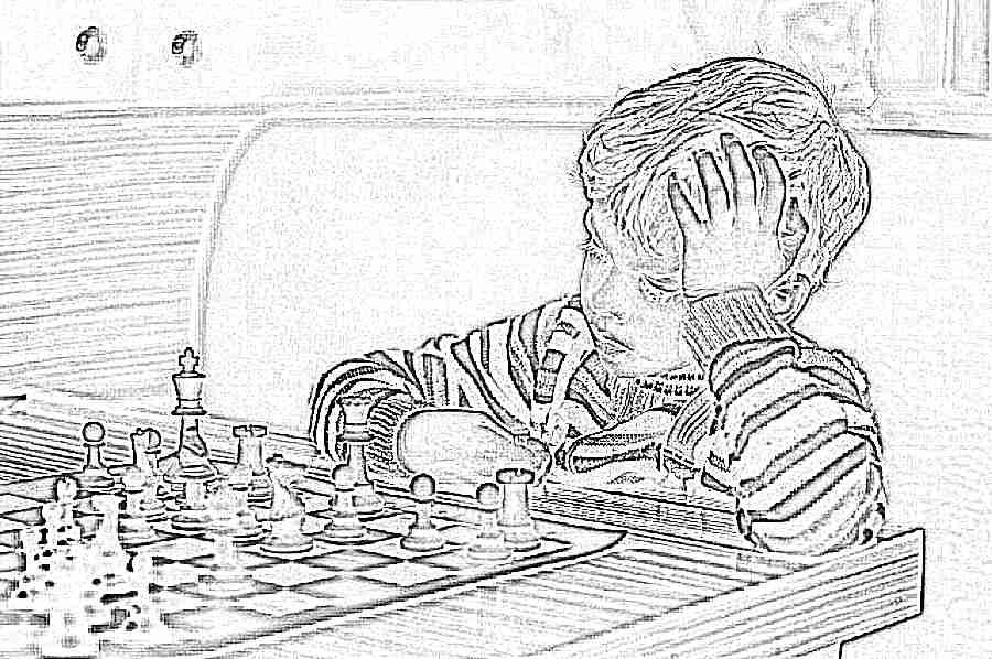 Картинки с детьми играющими в шахматы