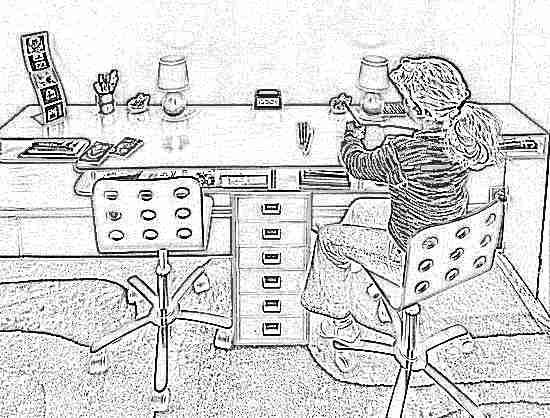 Письменный стол для школьника (91 фото): модели рабочих стол.