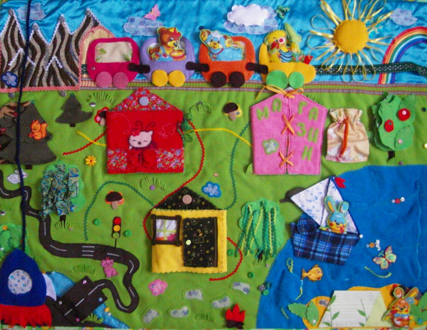 Детский развивающий коврик для детей своими руками фото 822