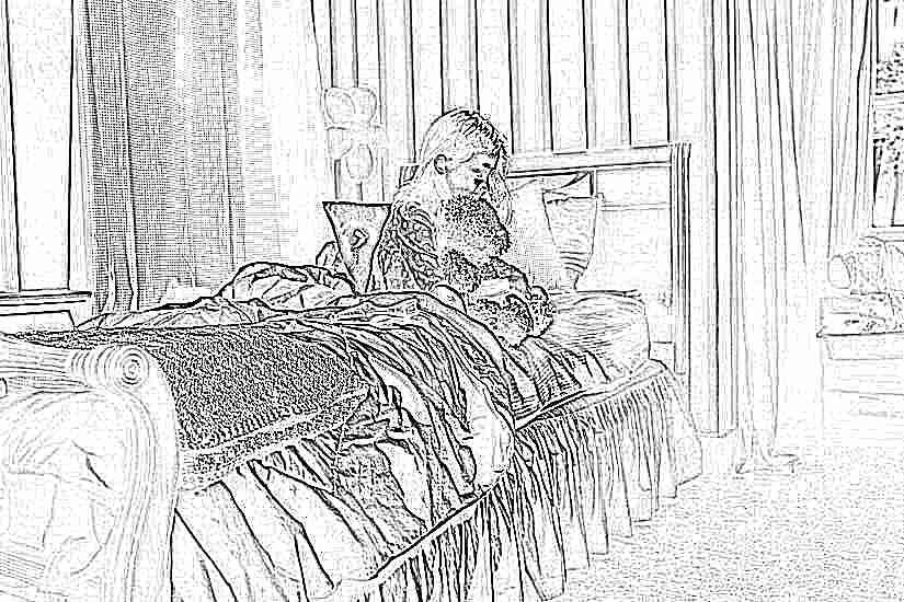 Ребенок уже вторую ночь не может уснуть