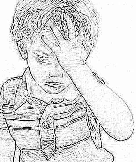 Почему у ребенка болит голова в лобной части