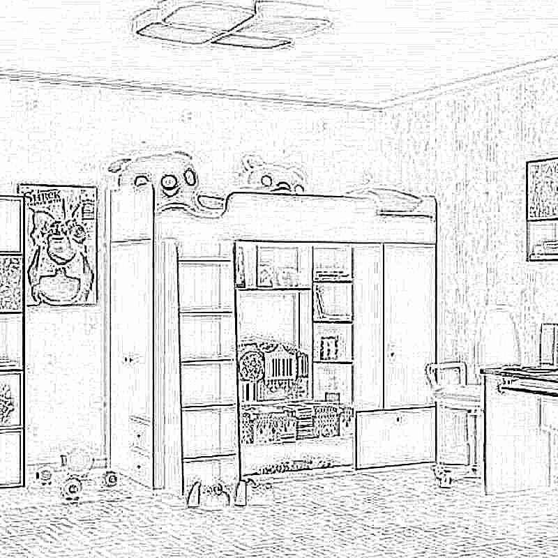 Детская кровать-чердак (165 фото): модели для девочек и мальчиков от 3 лет с рабочей зоной, со столом и шкафом 3