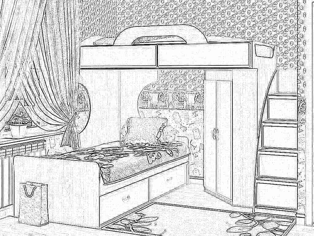 Детская кровать-чердак (165 фото): модели для девочек и мальчиков от 3 лет с рабочей зоной, со столом и шкафом 59