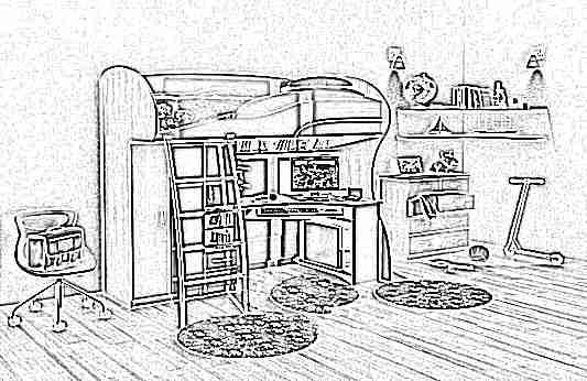 Детская кровать-чердак (165 фото): модели для девочек и мальчиков от 3 лет с рабочей зоной, со столом и шкафом 62
