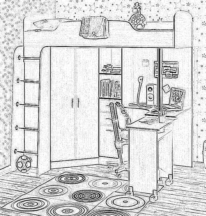 Детская кровать-чердак (165 фото): модели для девочек и мальчиков от 3 лет с рабочей зоной, со столом и шкафом 36