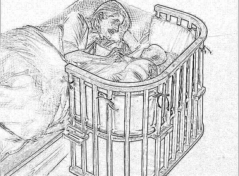 Какой размер кроватки для новорожденных