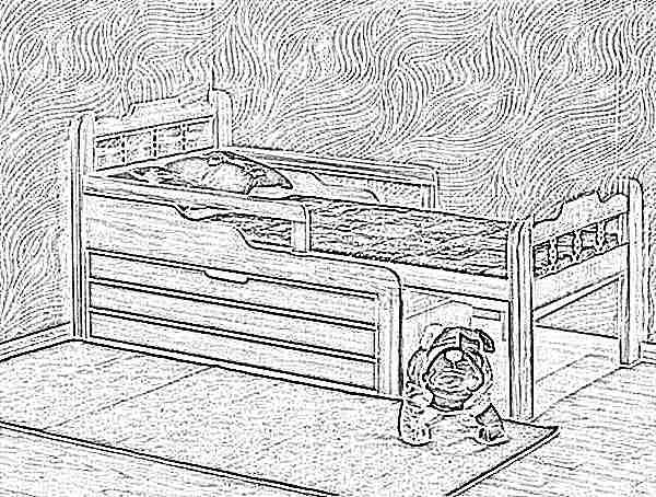 Сделать своими руками кровать для детей