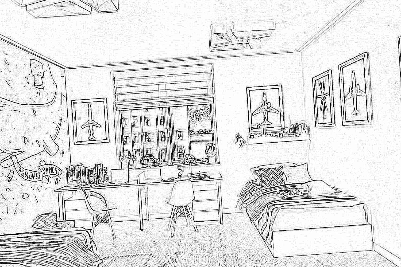 Дизайн детских комнат для мальчиков подростков