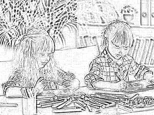Угловой письменный стол для двоих детей 32 фото размеры компьютерных детских парт