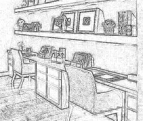 Стол письменный для двоих детей школьников вдоль стены: Письменный стол для двоих детей (78 фото): детские модели