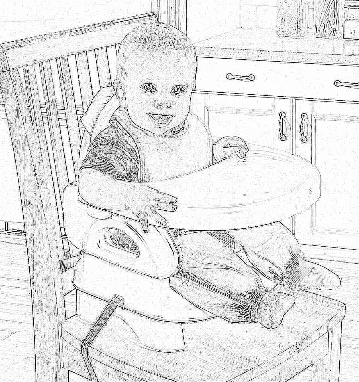 Как выбрать правильно стульчик для кормления 48