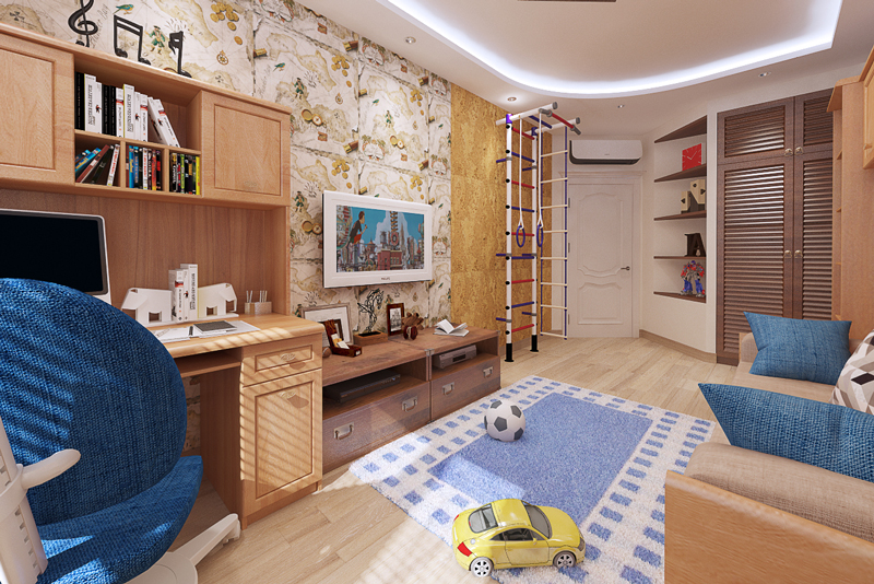 Комната 9м дизайн