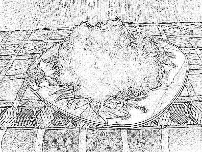 Рецепт салата с черной редькой с фото