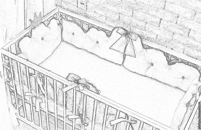 Органайзер для детей на кроватку своими руками фото 682