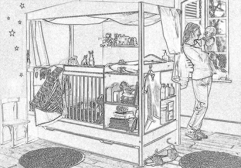 Дизайн кроватей в детской