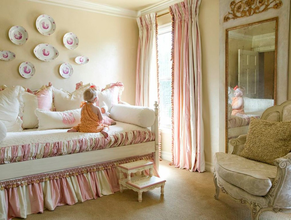 detskie-shtory-v-detskuyu-50 Шторы для детской комнаты девочек (77 фото): идеи готовых занавесок и тюли в спальню до подоконника