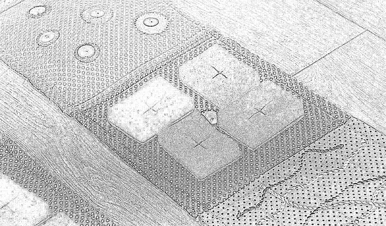 Сделать массажный коврик для ребенка своими руками