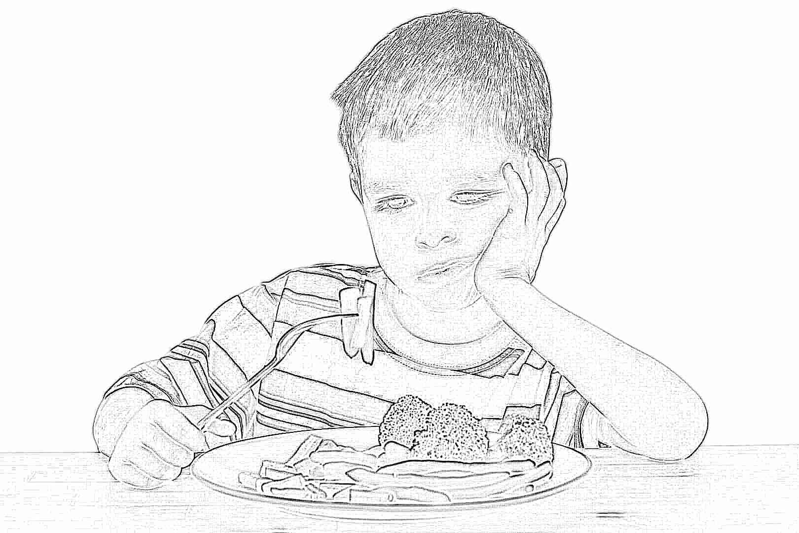 Что можно кушать при отравлении ребёнку
