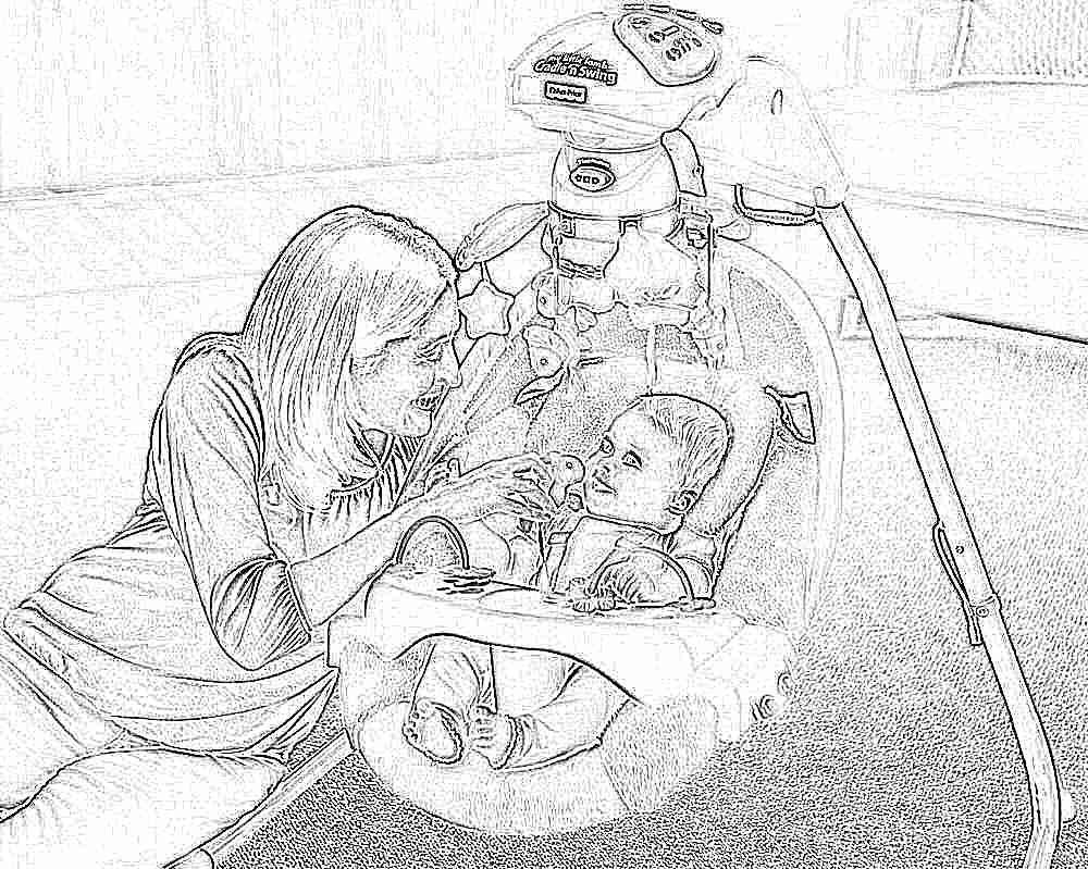 Фото мамы в кресле, Милфа с большими сиськами раздевается в кресле 7 фотография