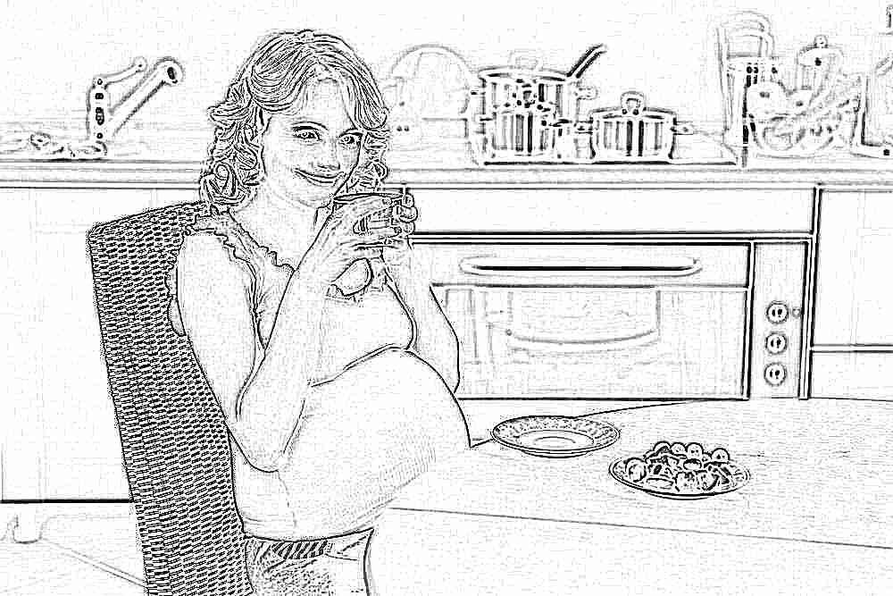 Похудение при беременности причины