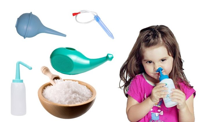 Чем промыть нос в домашних условиях ребенку 1 год