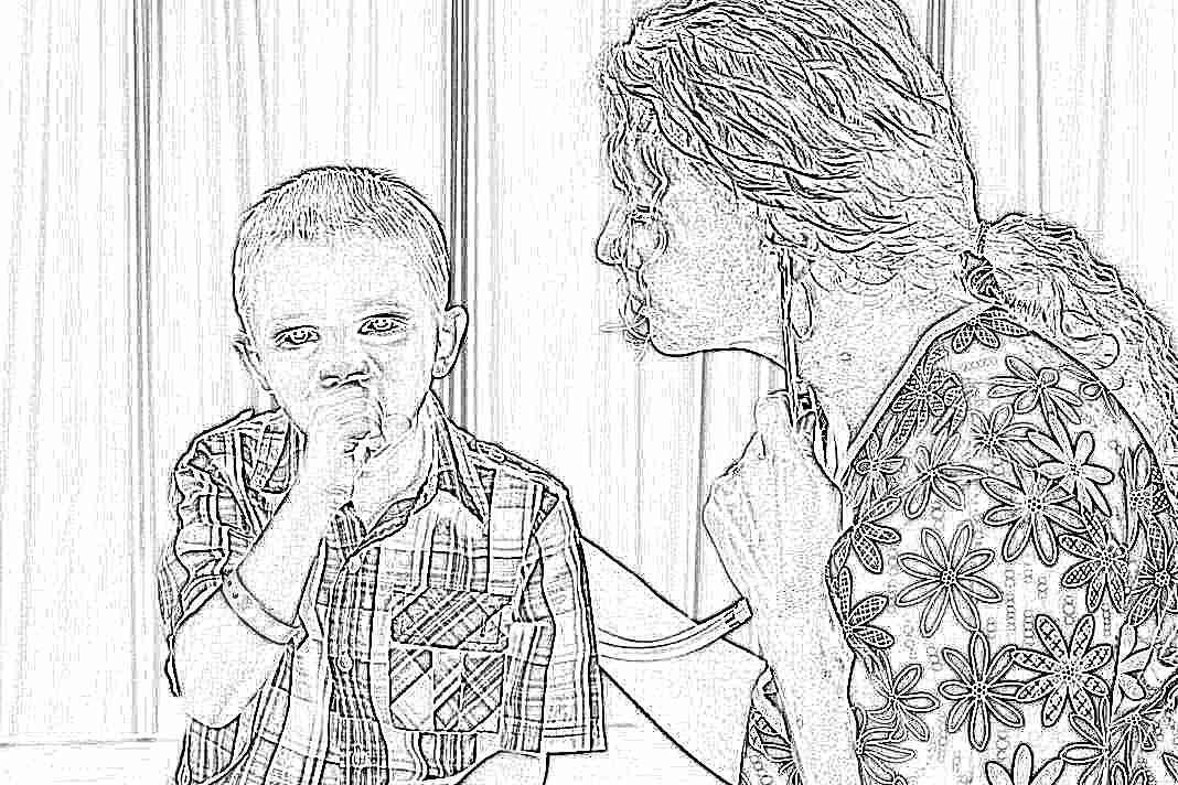 Народные средства от сухого кашля для детей