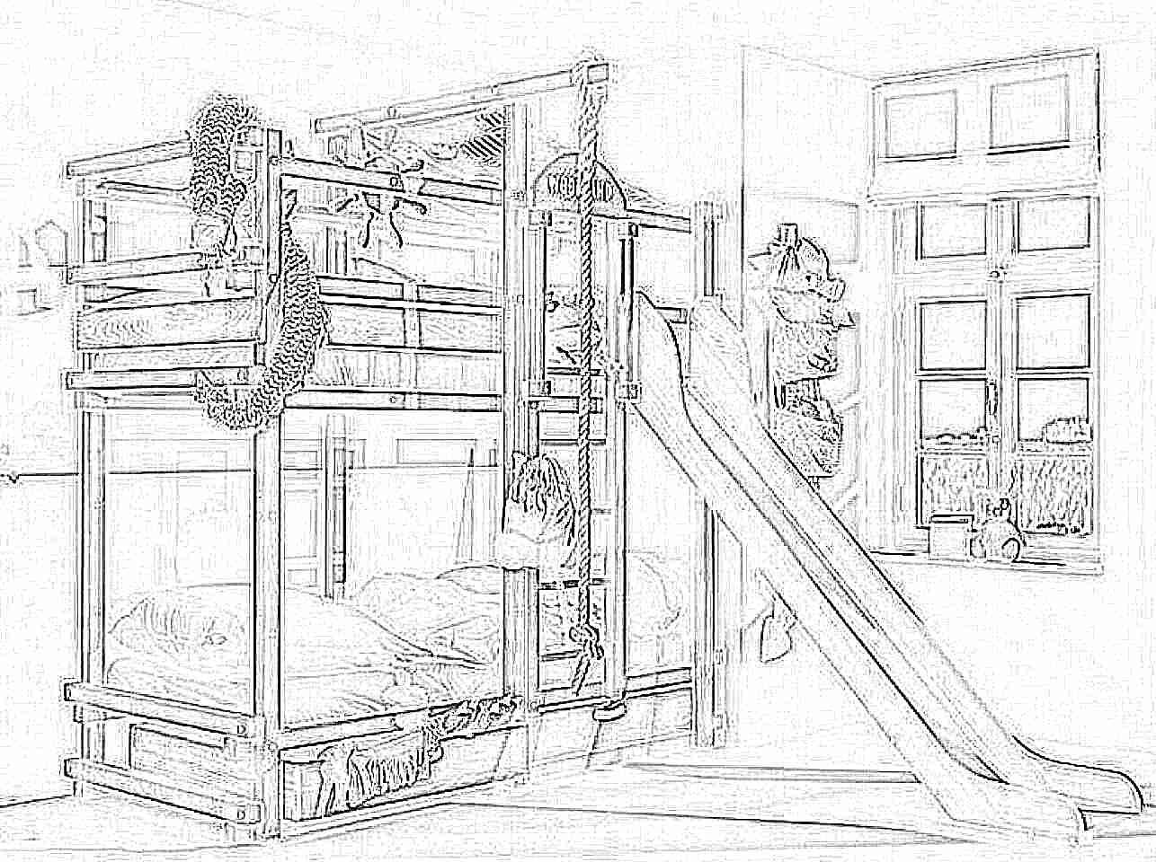 2 этажная кровать своими руками