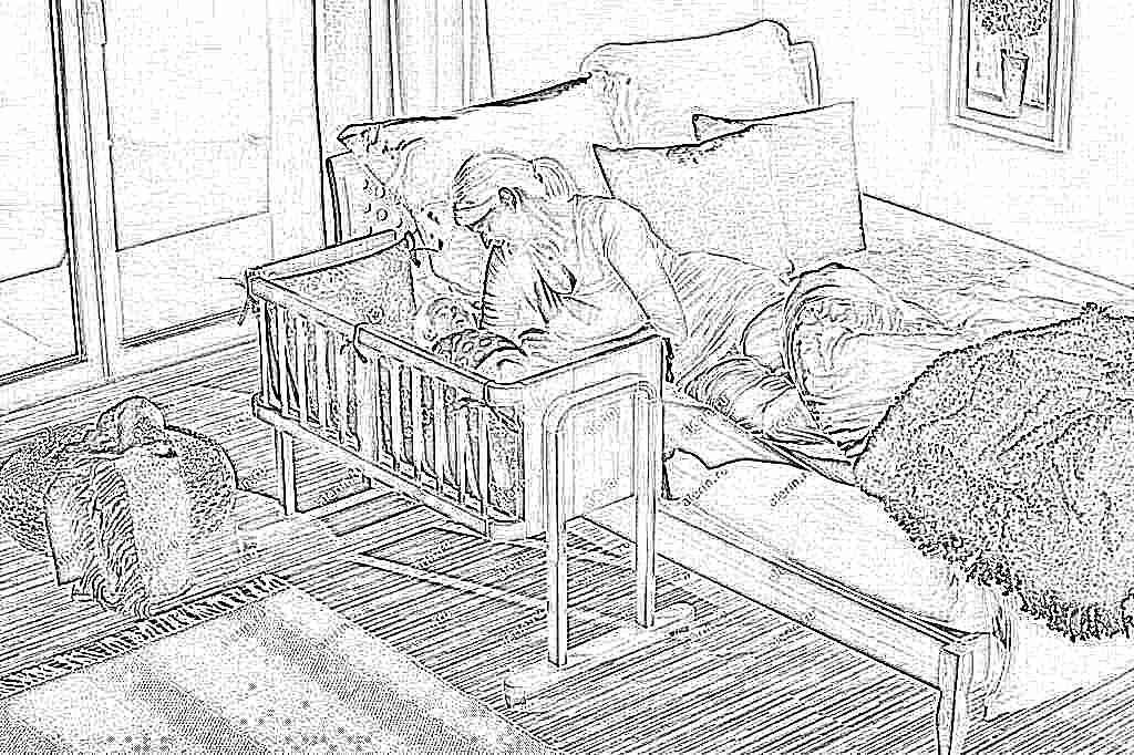 Кроватка для новорожденного крепится к кровати
