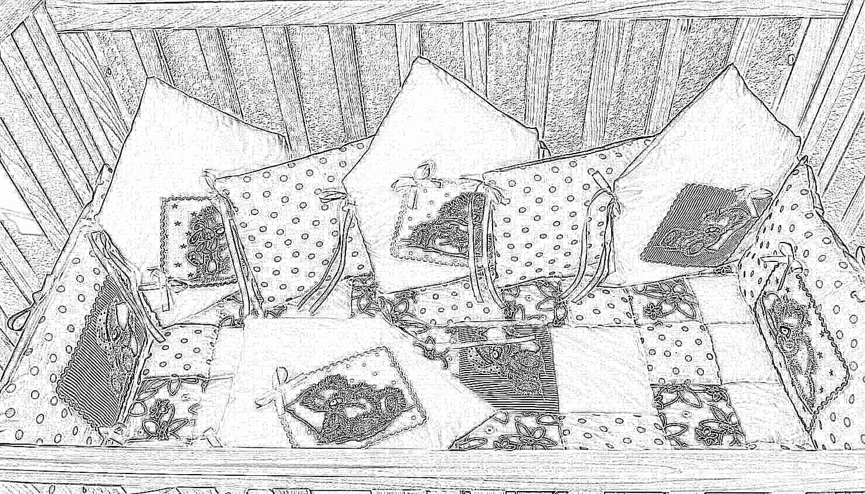 Как самостоятельно сшить постельное белье в детскую кроватку 64