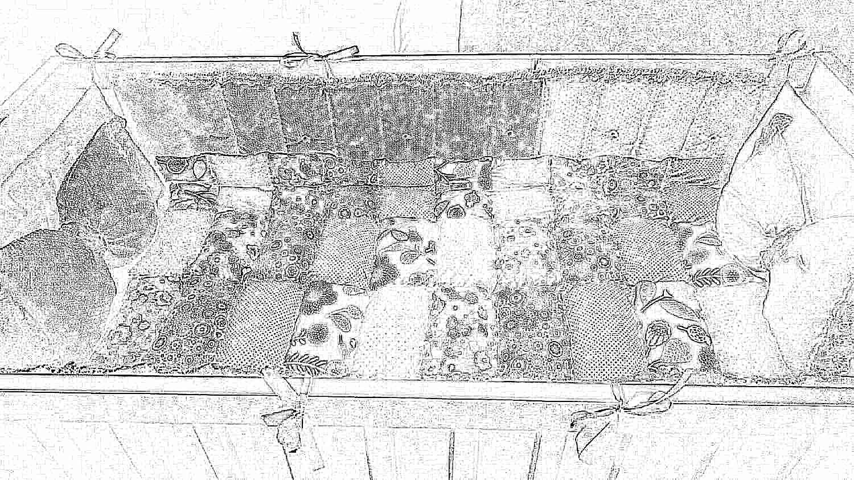 Бортики в кроватку для новорожденного своими руками 35